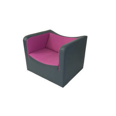 Boa Armchair Color: Elmo Leather 77030