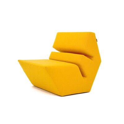 Evo Lounge Chair Color: Elmo Leather 07075