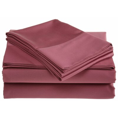 500 Thread Count Supima Sheet Set Size: Queen, Color: Heather Rose