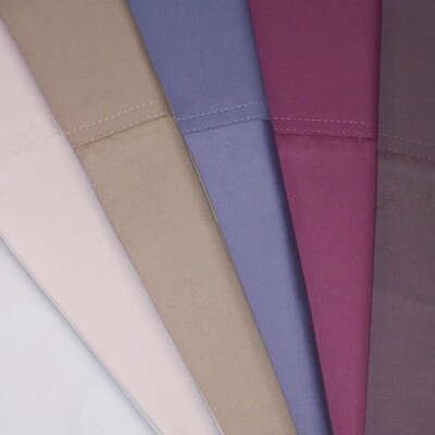 500 Thread Count Supima Sheet Set Size: Full, Color: Wood Rose