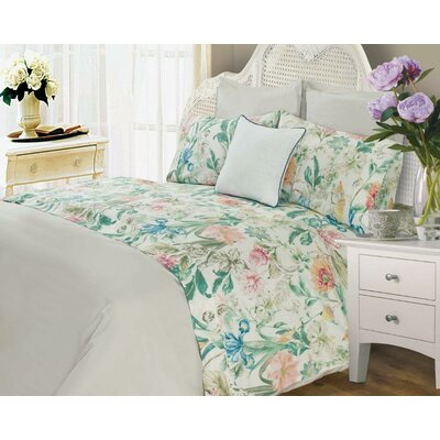 Laureole 400 Thread Count 100% Cotton Sheet Set Size: Twin XL