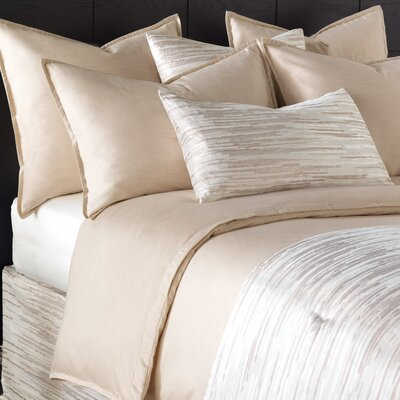 Pierce Comforter Size: King, Color: Sand