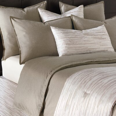 Pierce Duvet Color: Granite, Size: Super King