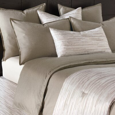 Pierce Comforter Color: Granite, Size: King