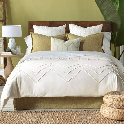 Sandler 8 Piece Duvet Cover Set Size: Super Queen