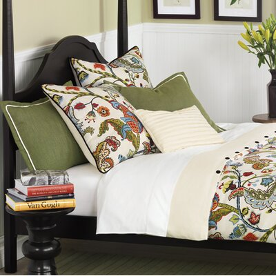 Bayliss Button-Tufted Comforter Size: King