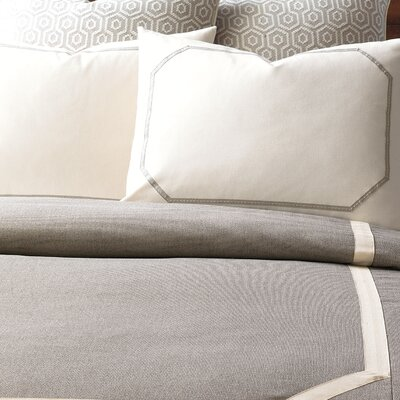 Wicklow Heather Hand-Tacked Comforter Size: King