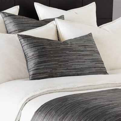 Pierce Horta Bed Scarf Color: Pewter