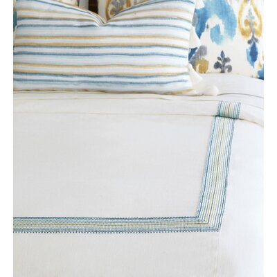 Aoki Breeze Shell Button-Tufted Comforter Size: Super Queen