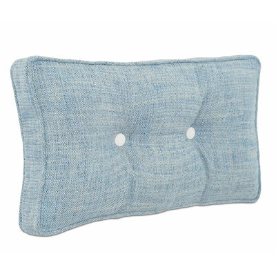 Aoki Draper Lake Boxed and Tufted Lumbar Polyester Pillow