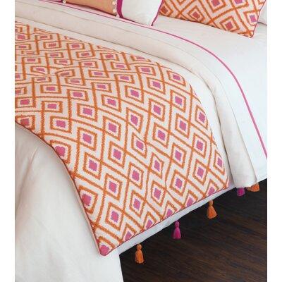 Taylor Starburst Bed Runner Size: 105 W x 25 D