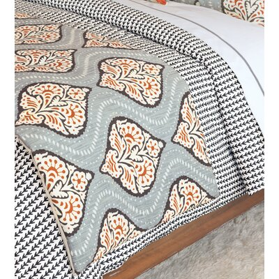 Bowie Ogee Bed Runner Size: 105 W x 25 D