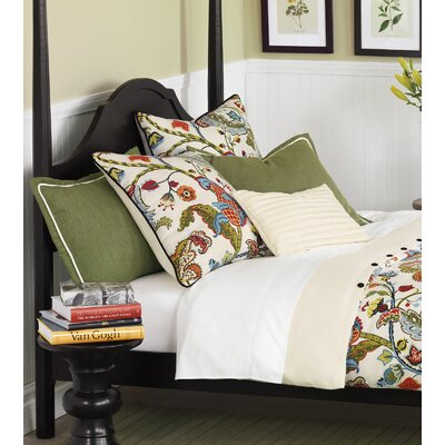 Bayliss Duvet Set Size: Twin, Color: Pesto