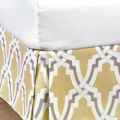 Davis Bed Skirt Size: California King