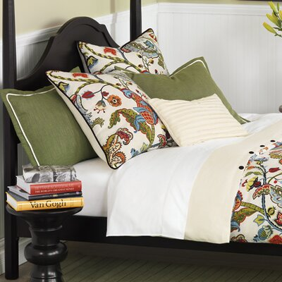 Bayliss Hand-Tacked Comforter Size: King