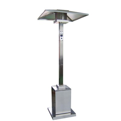 Tall Commercial Propane Patio Heater Finish: Stainless Steel