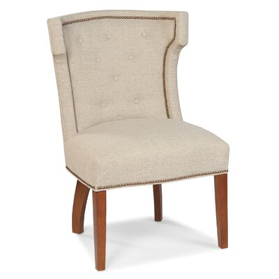 Transitional Tight Side Chair Color: Sand