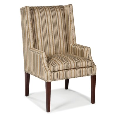 High Wingback Chair Color: Ebony