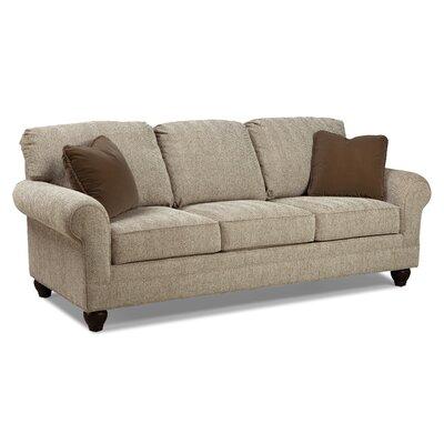 Casual 3 Cushion Sofa Upholstery: Bamboo / Chocolate