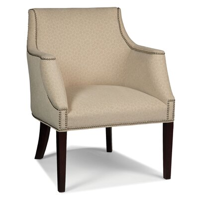 Shaped Arm Chair Color: Raisen