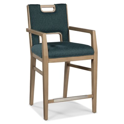 26 Bar Stool Upholstery: Flax