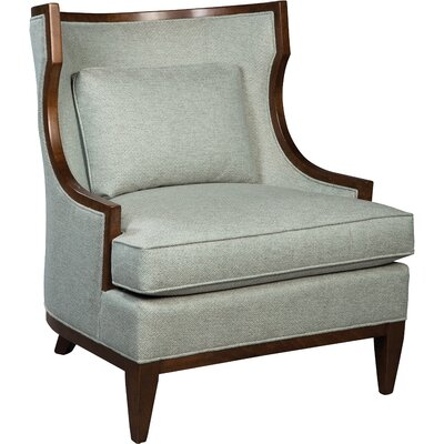 Transitional Wingback Chair Color: Pewter