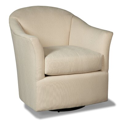 Swivel Armchair Upholstery: 9943 Latte