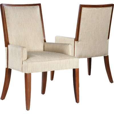 Polyester Arm Chair Upholstery: Cream