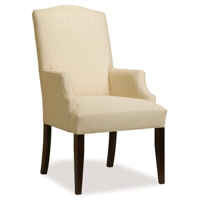 Tapered Leg Arm Chair Upholstery: Emerald