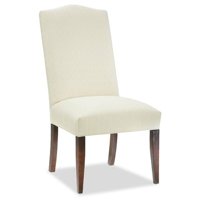 Tapered Leg Parsons Chair Upholstery: Azure