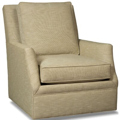 Big Mans Swivel Armchair Upholstery: Flannel