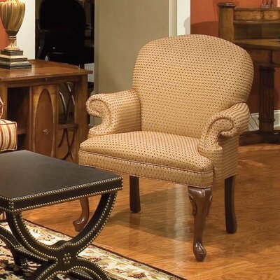 Millie Round Back Armchair Color: Taupe