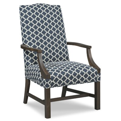 Martha Washington Occasional Arm Chair Upholstery: Flax
