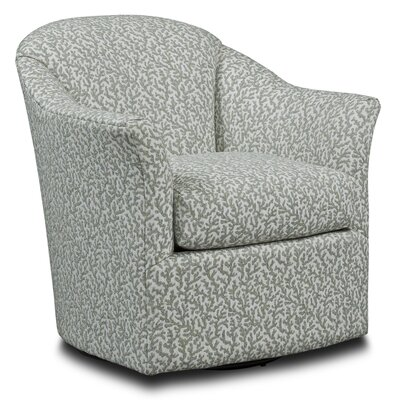 Tub Style Swivel Barrel Chair Upholstery: Kelly