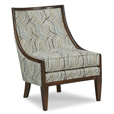 Sloped Arm Side Chair Upholstery: Dresden