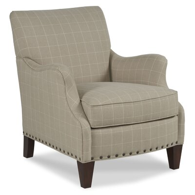 Transitional Armchair Upholstery: Oyster