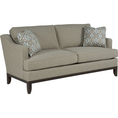 Loose Pillow Transitional Sofa� Upholstery: 3241 Sand