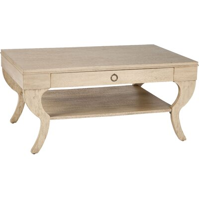 Coffee Table with Storage Color: Light Dusty Khaki