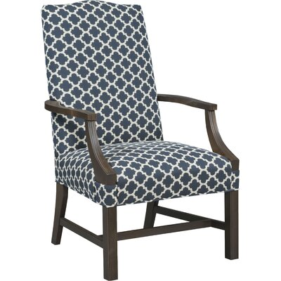 Martha Washington Occasional Armchair Upholstery: Ebony
