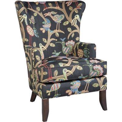 Wingback Chair Upholstery: Midnight