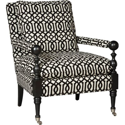 Spool Armchair Upholstery: 3260 Ebony