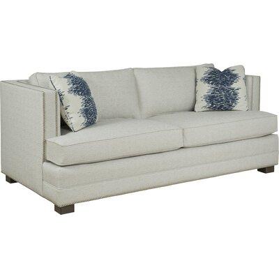 Loose Pillow Tuxedo Sofa� Upholstery: Bamboo