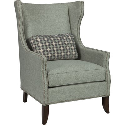 Wingback Chair Upholstery: Stone