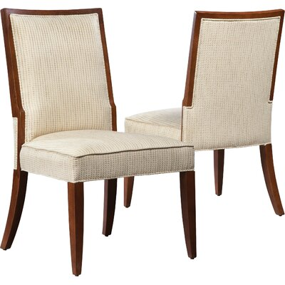 Upholstered Dining Chair Upholstery: Ebony
