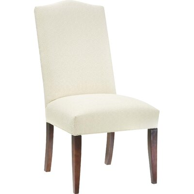 Tapered Upholstered Dining Chair Upholstery: Natural