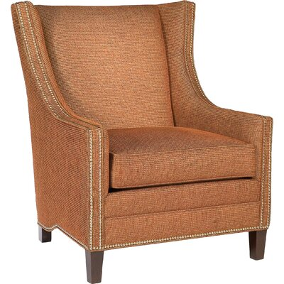 Lalan Wingback Chair Upholstery: 9532 Rust
