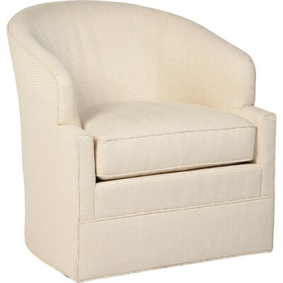Swivel Barrel Chair Upholstery: 3568 Natural