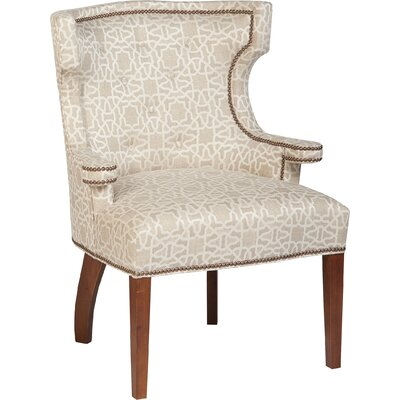 Tight Wingback Chair Upholstery: Linen