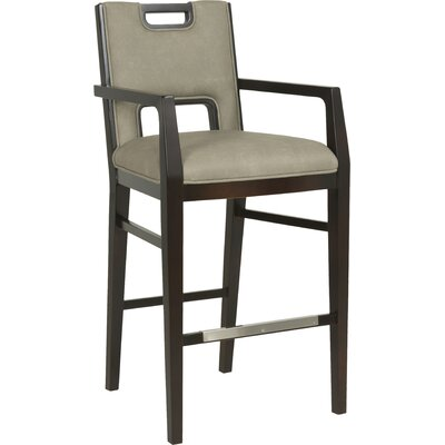 32 Bar Stool Upholstery: 9577 Taupe