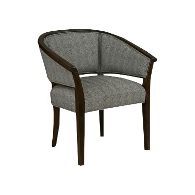 Tub Back Barrel Chair Upholstery: 9170 Pewter
